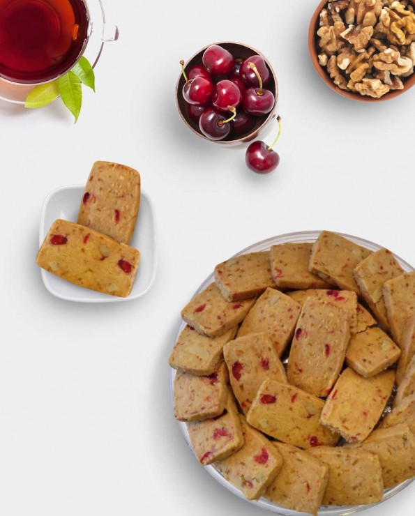 Cherry Walnut Cookies 樱桃饼