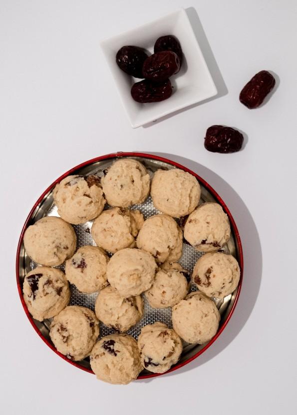 Red Dates Walnut Cookies 红枣核桃饼